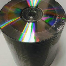 100 CD-R Silver 700mb (Shrink Wrap)