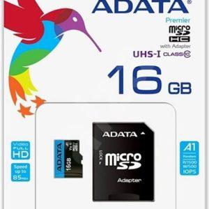 ADATA 16GB MicroSDHC UHS-I U1 Class10