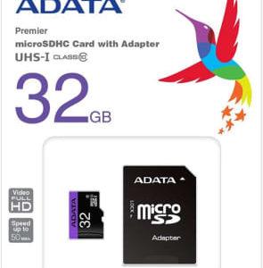 ADATA 32GB MicroSDHC UHS-I U1 Class10
