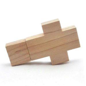 Wooden Cross 16Gb USB2.0